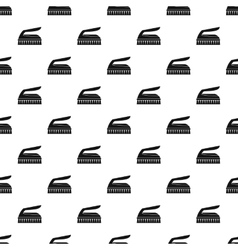 Brush for cleaning pattern simple style vector