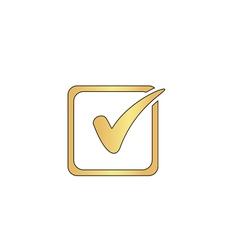 Checklist computer symbol vector