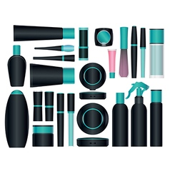 cosmetics set 7 vector image