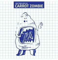 Cute cartoon character sketch vector