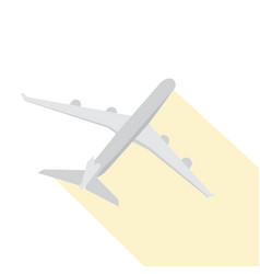 Isolated airplane icon vector