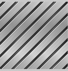 metal texture with diagonal brushed planks vector image