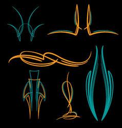 Pinstripe-038 vector