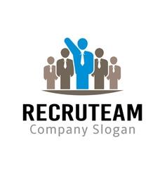 Recru Design Team vector