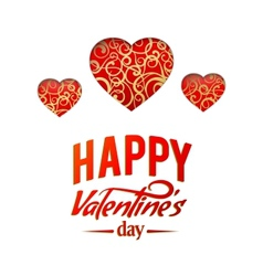 Valentine Heart Symbol vector image