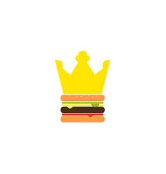 burger king vector image
