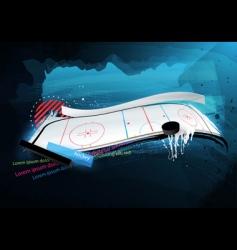 grunge sport design vector image