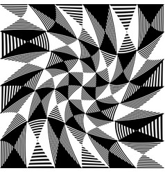 Abstract liny checkered pattern vector