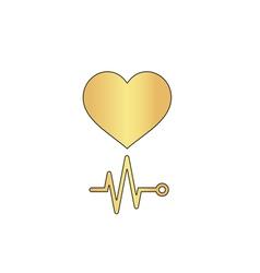 Cardiogram computer symbol vector
