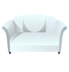 Couch blank vector image vector image