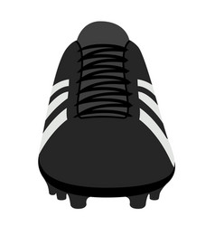 Isolated soccer cleat vector