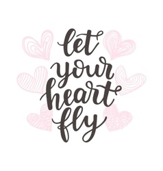 Let Your Heart Fly vector