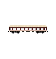 Passenger wagon vector image
