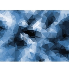 Polygonal abstract blue vector