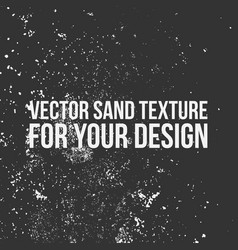 sand texture for your design vector image