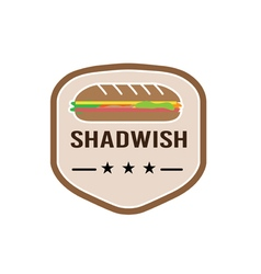 Sandwish Design vector