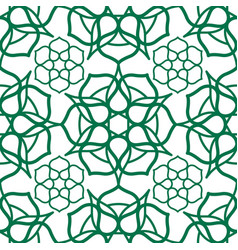 Seamless pattern with traditional oriental arabic vector