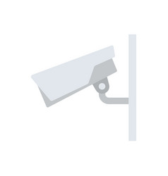 security camera icon vector image