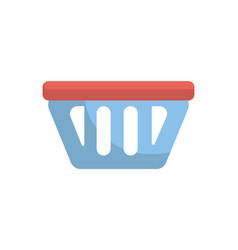 shopping basket icon symbol to buy vector image