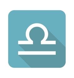 Square Libra icon vector image
