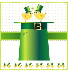 St patricks day background or card vector