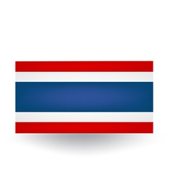 Thai Flag vector