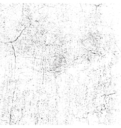 Overlay Cracked Plaster vector image vector image