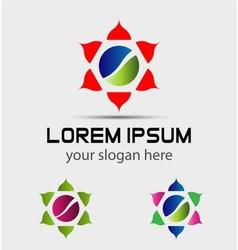 Abstract symbol logo icon element vector