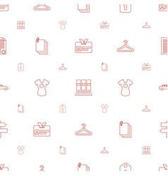 blank icons pattern seamless white background vector image