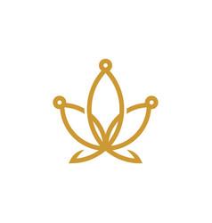 Cannabis logo cbd logo design vector