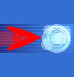 Computer virus atack concept banner cartoon style vector