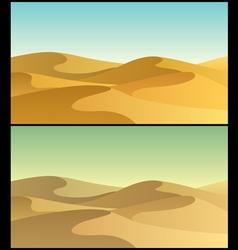 Desert 3 vector