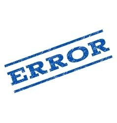 Error watermark stamp vector