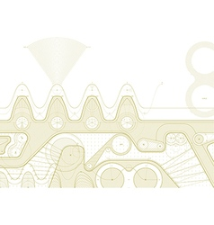 gearline draft vector image