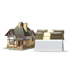 House blank vector