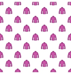 Men sweater pattern cartoon style vector