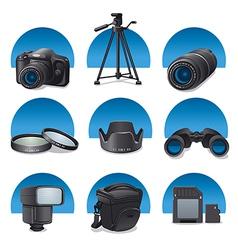 photo accessories vector image