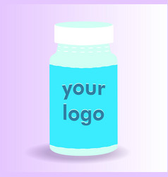 Pills for your design easily change the color of vector