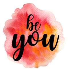 Quote be you vector