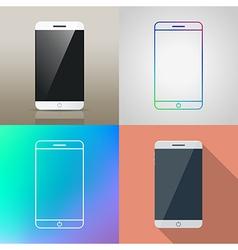Set of Smartphone icon vector image