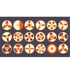 Recording Reels vector image