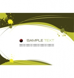 copy space background vector image vector image