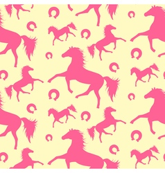 Horses Pattern vector image