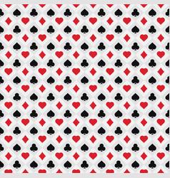 Poker card pattern vector