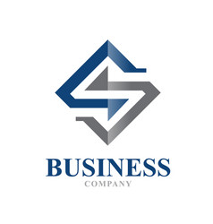 s business law firm logo designs vector image