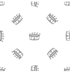 sport round stadium pattern seamless vector image