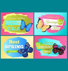 Best spring sale 70 off sticker butterfly vector