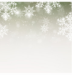 christmas or happy new year greeting card vector image