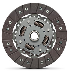 clutch disc vector image