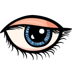eye clip art cartoon vector image